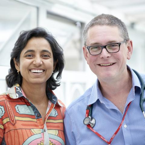 Dr Rashmi Yadav and Professor Michael Polkey